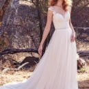 Maggie Sottero - Sonja - Ivory/Pewter Accent - US12/UK14 - £699