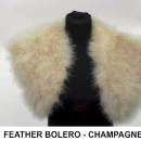 FEATHER BOLERO CHAMPAGNE-2